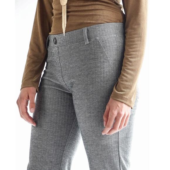 e6f5d4894bab6 Betabrand Pants - Betabrand Herringbone Dress Pant Yoga Pants Gray